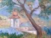 Strajerul-uei pe pânză- 40x40 cm