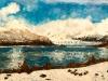 Ghetarul Perito Moreno - ulei pe carton panzat, 35x50 cm