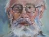 Autoportret 45x42cm, ulei/carton