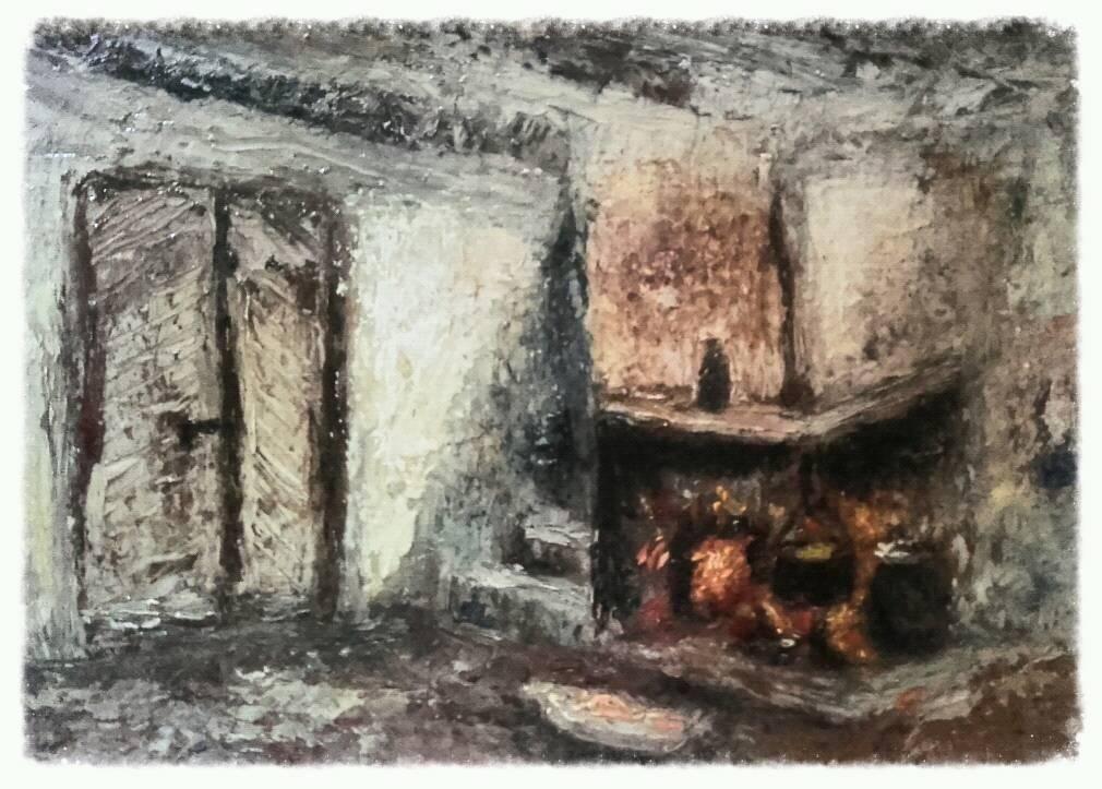 Interior casa parinteasca