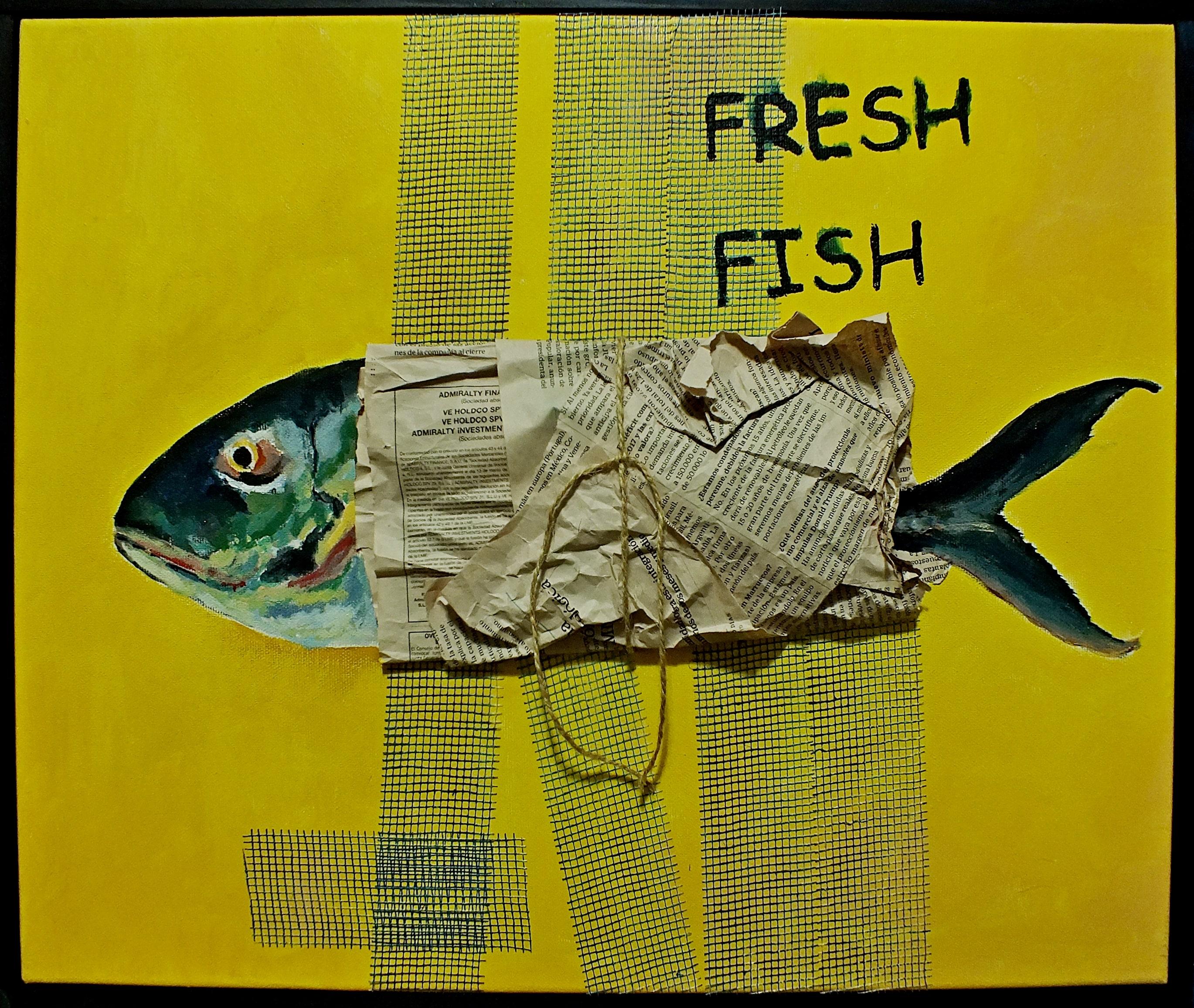 Fresh Fish - 40x50 cm