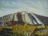 Vulcanul El Teide 50x50cm, ulei/panza