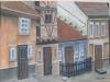 Praga.Strada Aurarilor 27x36cm, tempera/carton