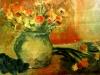 Ulcică cu flori -30/28 ulei pe pânză