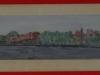 Constanta vazuta din portul Tomis(1980) pastel 100-15 cm.1980-min