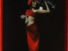 Tango in red.ulei pe panza 50-70cm.2013-min