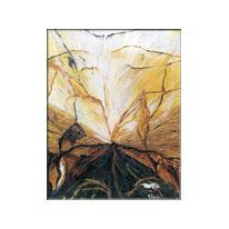 Geneza solara, ulei/carton