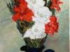Gladiole - ulei pe panza, 70x30 cm