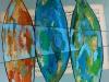 Simfonia pentru trei sardele - 70x50 cm