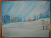 Peisaj de iarna 34x25cm