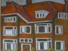Casa in Olanda 65x50cm, ulei/panza