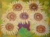 Floarea soarelui 45x50cm, ulei/carton