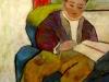 Lectura (80/50 ulei pe pânză)