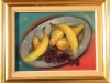 Natura statica cu fructe 33x41cm, ulei/carton